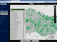 [Translate to Slovensko:] CentropeMAP screenshot